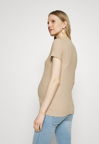 ONLY - OLMEMMA - Basic T-shirt - humus/melange - 2