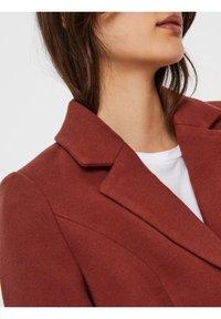 Vero Moda - Classic coat - mahogany - 3