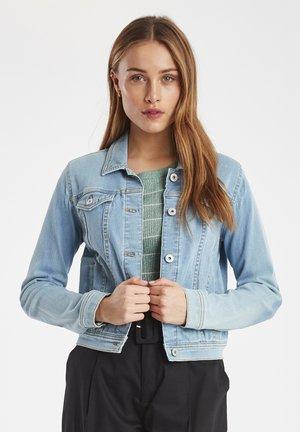 IHSTAMP - Denim jacket - light blue