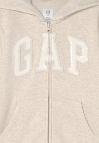 GAP - LOGO - Sweater met rits - oatmeal heather - 2