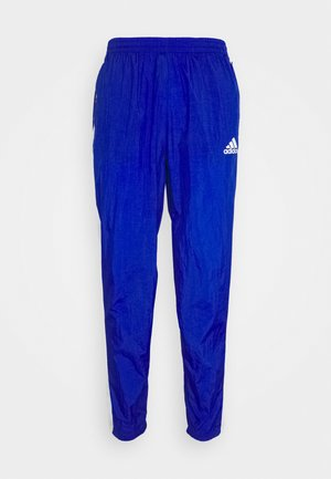 TRACK - Tracksuit bottoms - team royal blue/white/scarlet