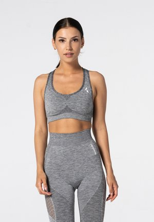 PHASE SEAMLESS - Sports bra - grey