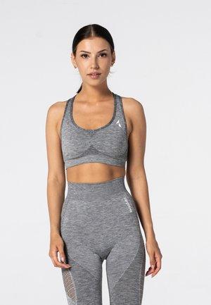 PHASE SEAMLESS - Sports bra - grey