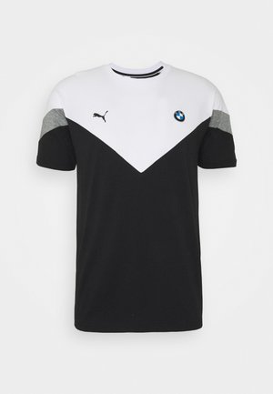 BMW TEE - T-shirt con stampa - black