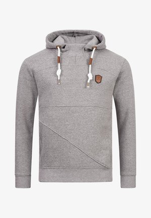 Sweat à capuche - grey mix