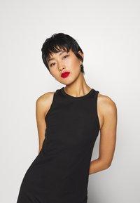 Weekday - TELMA DRESS - Maxi dress - black - 4
