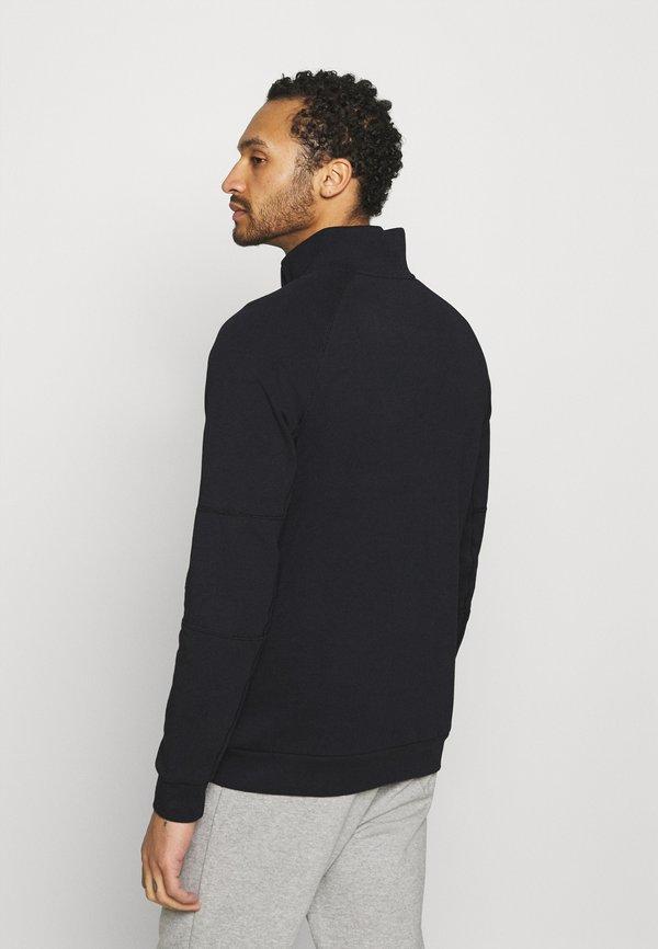 Nike Sportswear MODERN - Bluza - black/dark smoke grey/ice silver/white/czarny Odzież Męska TAAW