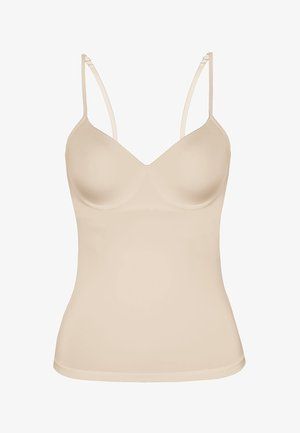 CLASSIC MICRO - Undershirt - beige