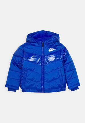 COLOR BLOCK HEAVY PUFFER - Winterjacke - game royal