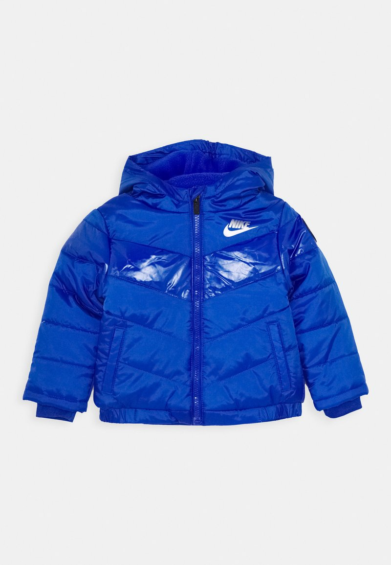Nike Sportswear - COLOR BLOCK HEAVY PUFFER - Winter jacket - game royal