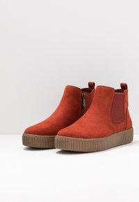 Marco Tozzi - Ankelboots - brick - 4