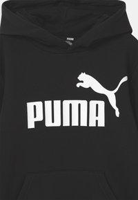 Puma - BIG LOGO HOODIE UNISEX - Bluza - puma black - 2