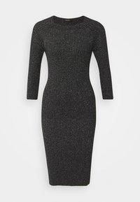 LIU JO - ABITO MAGLIA - Shift dress - black - 7