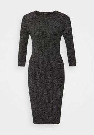 ABITO MAGLIA - Pouzdrové šaty - black