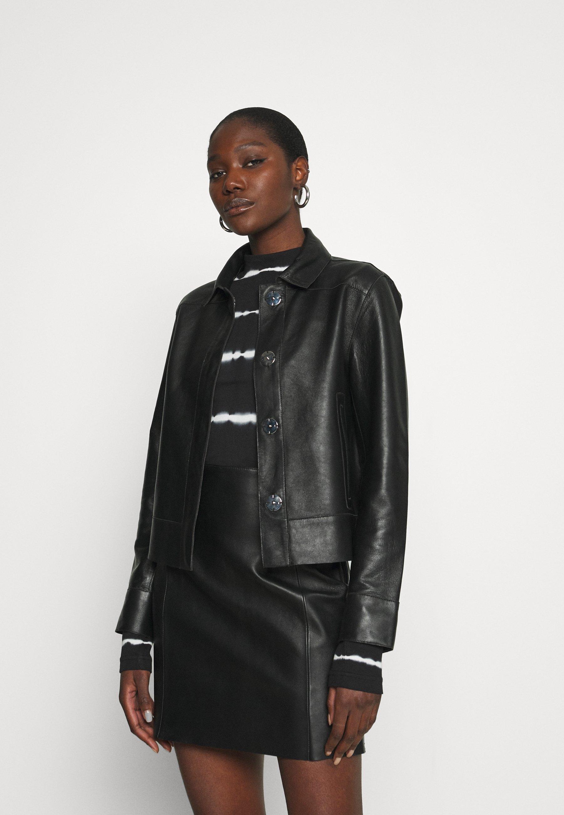 Femme FRESH - Veste en cuir
