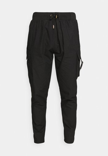 ZAIAR PANT - Pantaloni cargo - jet black