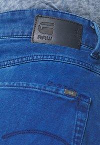 G-Star - 3301 HIGH MINI  RIPPED - Jupe en jean - deep true blue - 5