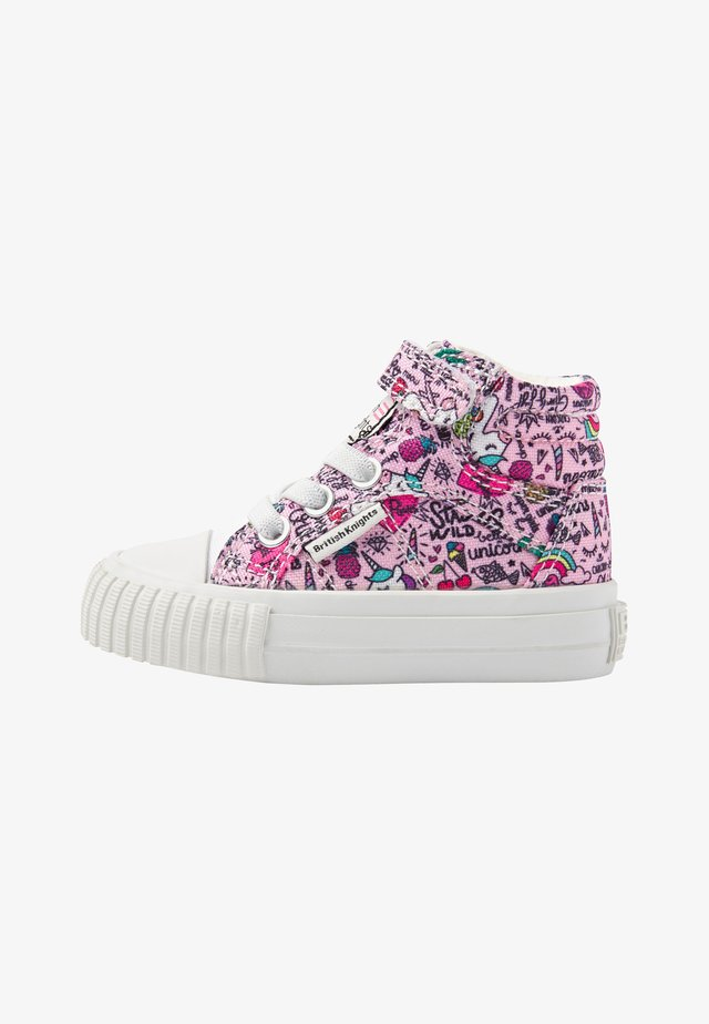 DEE - High-top trainers - pink unicorn