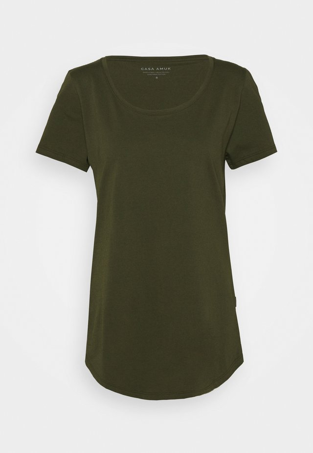 TALL TEE - T-shirts basic - olive