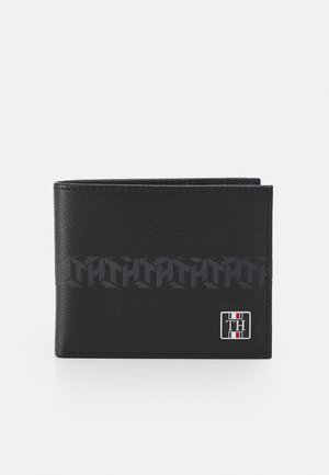 MONOGRAM MINI WALLET - Portemonnee - black
