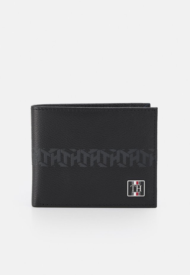 MONOGRAM MINI WALLET - Lompakko - black