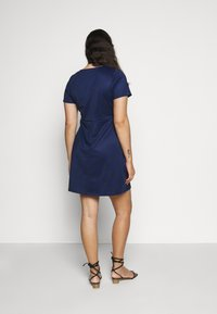 CAPSULE by Simply Be - POCKET SHIFT - Kjole - navy - 2