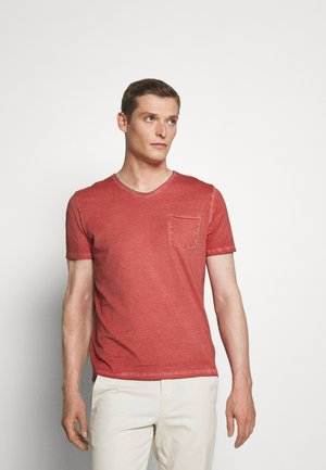 SHORT SLEEVE RAW - Basic T-shirt - baroque rose