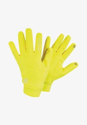 Gloves - fluro yellow