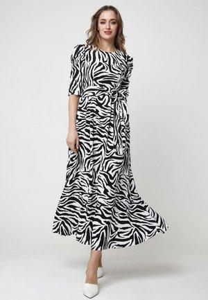Ange - Maxi dress - weiß, schwarz