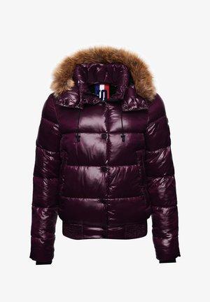 HIGH SHINE TOYA - Winter jacket - potent purple