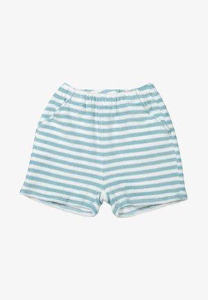 Shorts - aqua/white
