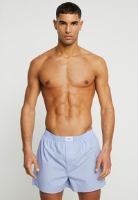 TOM TAILOR - WESTSIDE 2 PACK - Boxer shorts - hellblau - 0