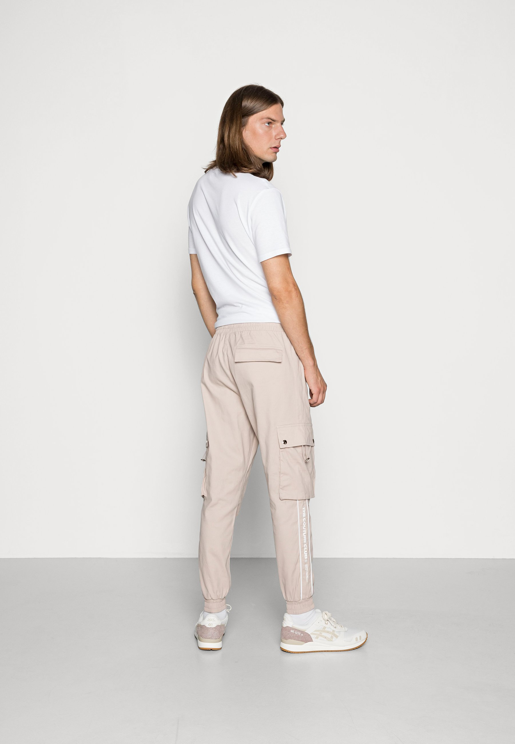 Homme DEFINITION PIPED PANT - Pantalon cargo