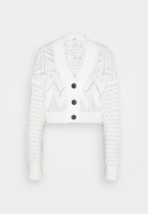 CARDI - Cardigan - evening cream