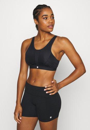 HIGH INTENSITY SPORTS BRA - High support sports bra - black