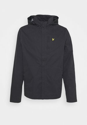 LIGHTWEIGHT FUNNEL NECK JACKET - Tunn jacka - jet black