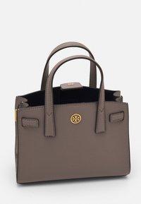 Tory Burch - WALKER MICRO SATCHEL - Handbag - gray heron - 2