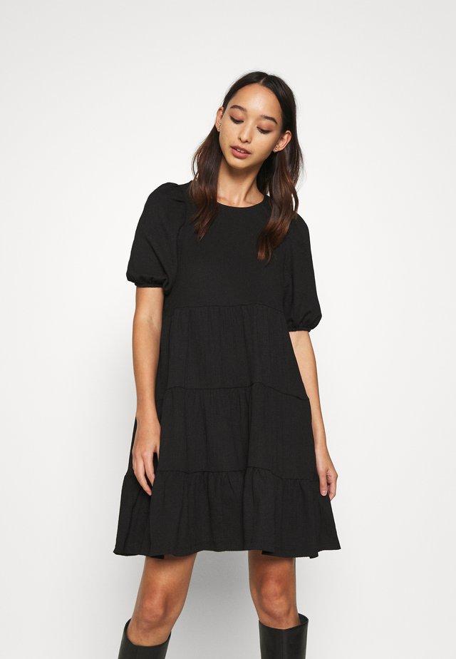 MI DRESS - Vapaa-ajan mekko - black dark