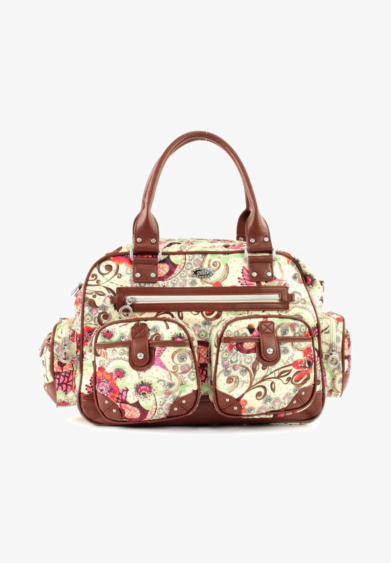 Oilily - TROPICAL BIRDS CARRY ALL - Weekend bag - off white