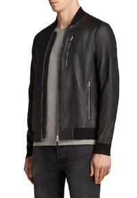 AllSaints - KINO  - Leather jacket - black - 1