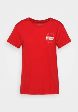 THE PERFECT TEE - Camiseta básica - poppy red