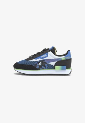 Trainers - palace blue black