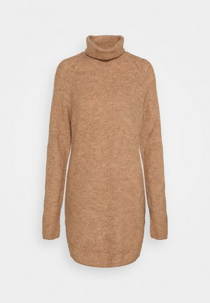 PCELLEN LONG - Strickpullover - natural