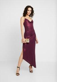 Soaked in Luxury - SLADALYNN STRAPDRESS - Vestido de fiesta - grape wine - 2