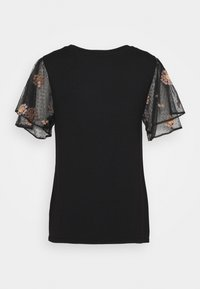 Dorothy Perkins - DOBY - T-shirt med print - black - 1