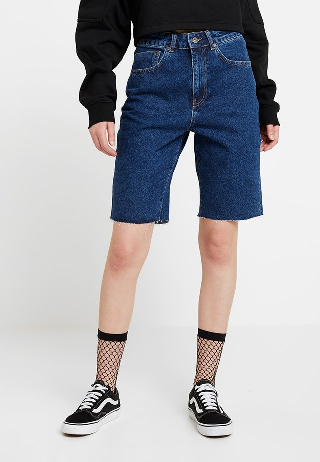 Shorts di jeans - mid blue