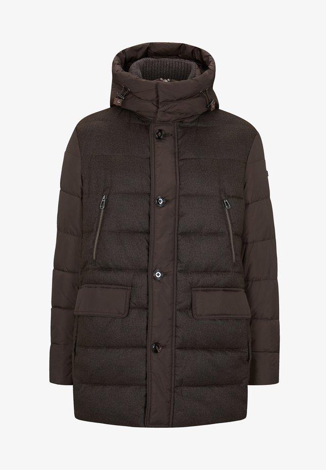 Gewatteerde jas - dunkelbraun