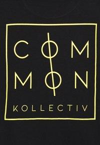 Common Kollectiv - UNISEX ZONE LONGSLEEVE  - Bluzka z długim rękawem - black - 2