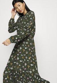 mbyM - ELLINOR - Robe longue - dark green - 4
