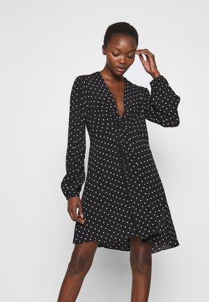 ABITO MAROCAINE STAMP - Day dress - nero/bianco